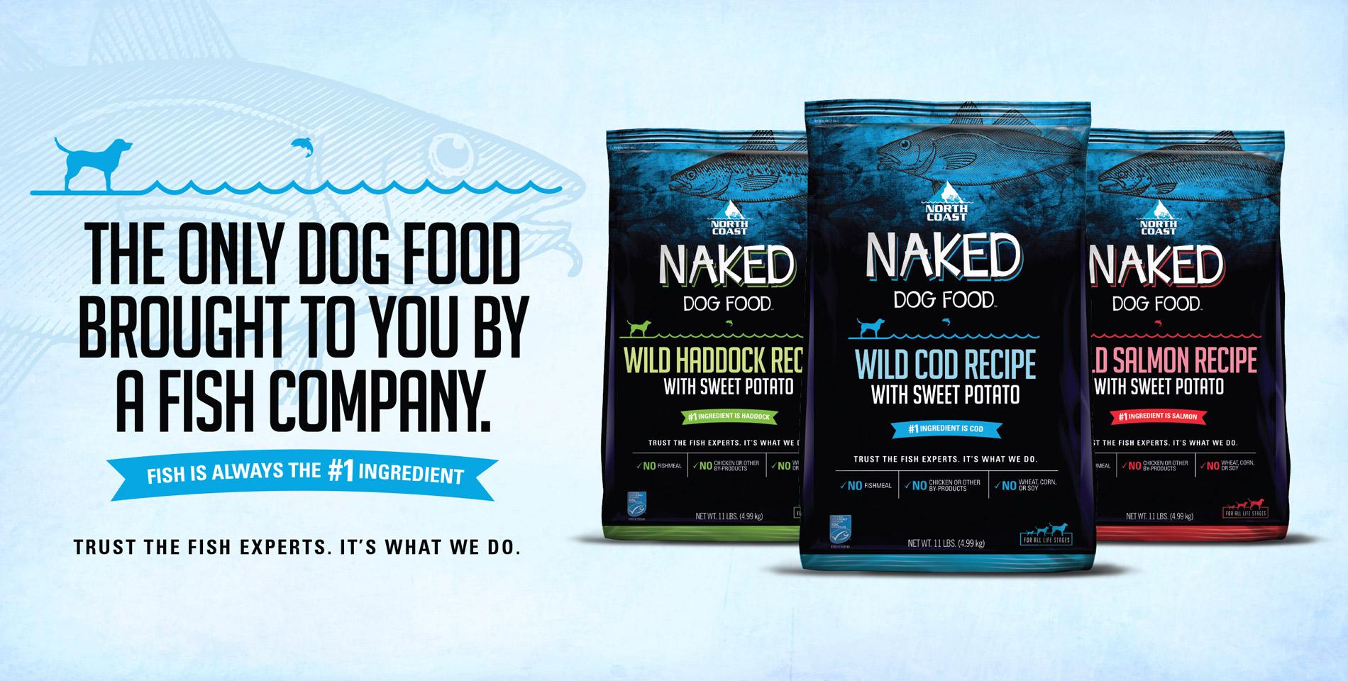 North Coast Naked Dog Food