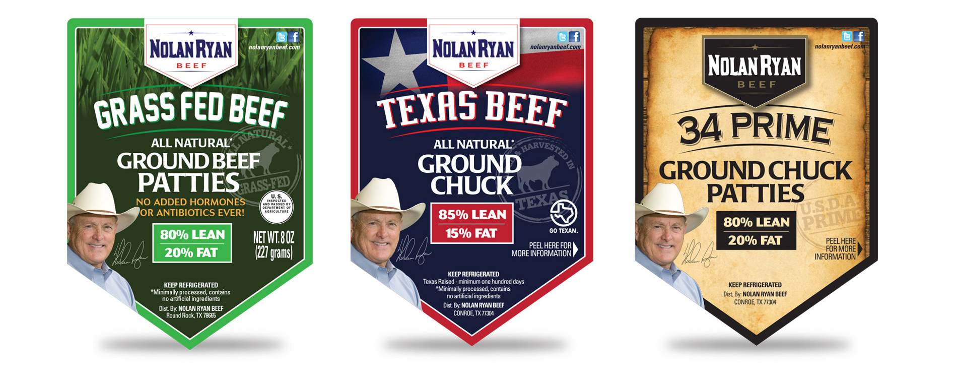 Nolan Ryan Beef Labels
